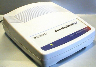 ComSwitch 3500 3-Port Line Sharing Device (fax switch)  w/ AC Adapter
