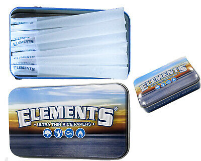 15  King Size Element cones plus 1 Element classic tin carrying case