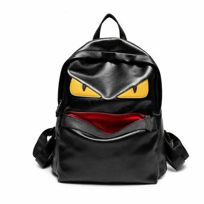 147131e8c830 FENDI LEATHER DEMON Eyes Little Monster Fendi Backpack Women Men School  Bags NEW -  45.00