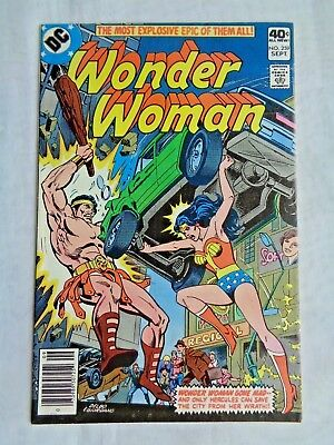 Wonder Woman Vol 38 No. 259 September 1979 DC First Print Bronze Age VF/NM (9.0)