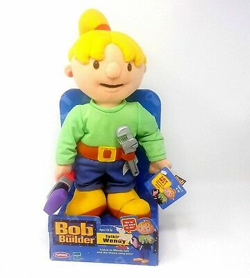 Bob the Builder Talking Wendy Musical Doll Playskool Plays Bob the Builder