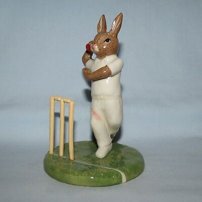 ROYAL DOULTON AUSTRALIAN EXCLUSIVE LIMITED EDITION BUNNYKINS DB490 HOWZAT Box