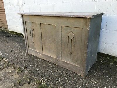 Fantastic, 19thC French Antique Cupboard, Double Sided, Rare, Original