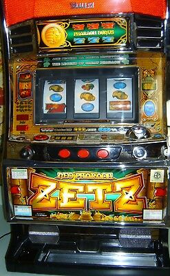 Slot Machine - Holographic - Neo Pharaoh - Zetz - Japanese Pachislo Slot Machine
