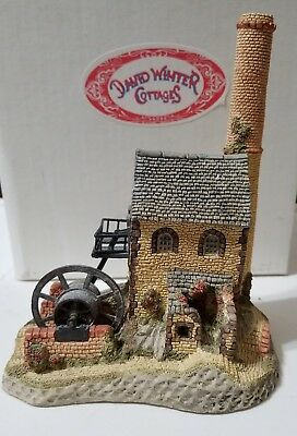 David Winter Cornish Engine House 1987 The West Country Collection -  Box