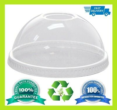 STRONG PET CUP DOME LID USABLE 12oz, 14oz, 16oz ONLY LID