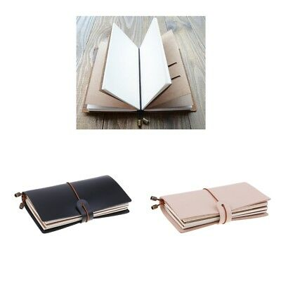 Refillable Leather Notebook Journal Handmade Vintage Travel Diary Notepads