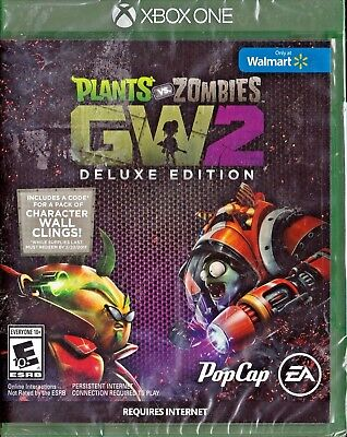 PLANTS VS  ZOMBIES: Garden Warfare 2 -- Deluxe Edition (Xbox One, 2016)  *Sealed