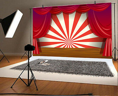 THEATER CARTOON COMIC Stage Backdrop 10x6 5ft Background Studio Photography  Prop