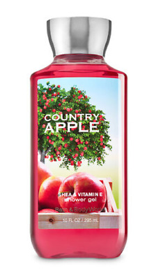 NEW Country Apple Shower Gel & Body Cream Bath and Body Works Set of 2
