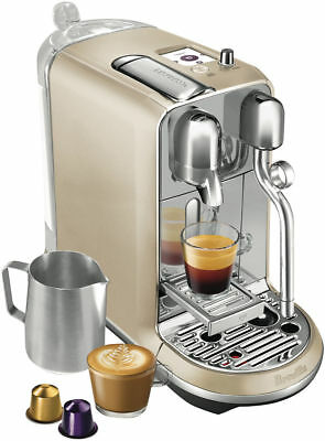 Pay$408*[42%OFF!] NEW F2 Nespresso BNE600 RCH Breville Creatista ROYAL CHAMPAGNE
