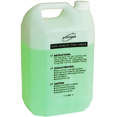 Non-toxic Strong Smoke Fog Machine  Fluid Liquid Juice 5L Water-based