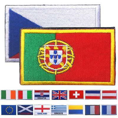 "2""x3"" 2018 World Cup Flag Embroidered Iron On Patch Patch Country National Flags"