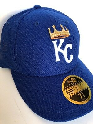 size 40 4f4a5 a155e KANSAS CITY ROYALS 59FIFTY MLB New Era Cap Low Profile Men s Fitted Hat 7  ...