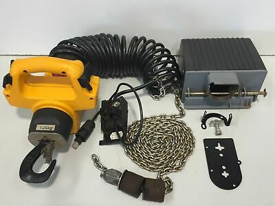 Demag Controller & Chain Suit 125kg Type 1/1 H2.3 Hoist 4.2 x 12.2 RTS 2.3m Lift