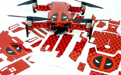 DeadPool Drone Decal Skin Wrap Stickers for DJI Spark, Mavic Air, Mavic Pro