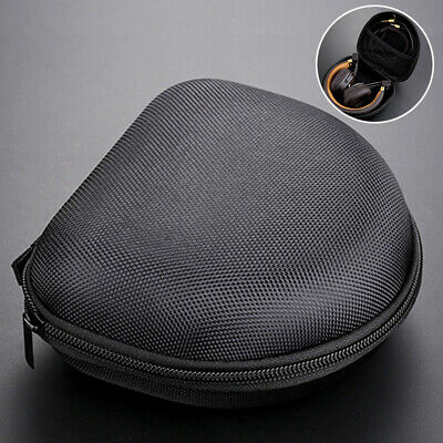 1pc Headphones Storage Case Box Bag for Marshall Major On Ear Headphones Black
