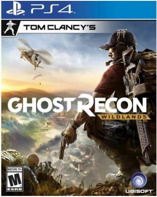 Tom Clancy's Ghost Recon Wildlands - PlayStation 4, New and Sealed, Free Ship