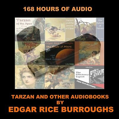 Edgar Rice Burroughs Collection. Enjoy 168 Hrs Of Audiobooks In Your Car Or Home