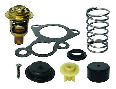 Thermostat and Poppet Kit For Mercury 30 hp & 40 HP 2 Cylinder Outboards 14586A7