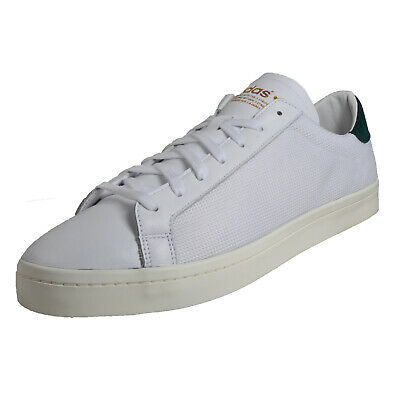Adidas Originals Court Vantage Mens Classic Casual Retro Fashion Trainers White
