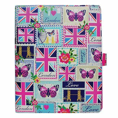 10 X Accessorize Love London Folio Cases for ALL iPad Models, 2,3,4 and 5th