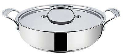 Tefal Jamie Oliver Professional Stainless Steel 30cm Induction Wave Serving Pan