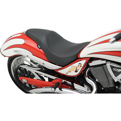 Drag Specialties Smooth Predator Seat for 2006-2014 Victory Jackpot & Vegas