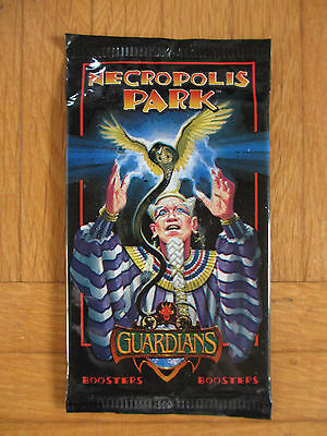 Guardians CCG - NECROPOLIS PARK - 1x Booster Pack - Sealed New Neu - tcg card bb