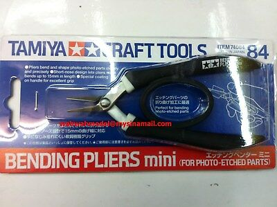 Tamiya 74084 Bending Pliers Mini - For Photo Etched Parts