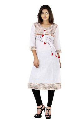 Indian Bollywood Cotton Tunic Women's Designer Tunic For Girls Newly Tunic