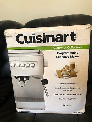 Cuisinart Em 200 Programmable 15 Bar Espresso Cuccino Latte Maker Parts