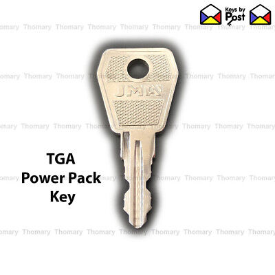 TGA 901 Power Pack Key Mobility Scooter Spare or Replacement Key