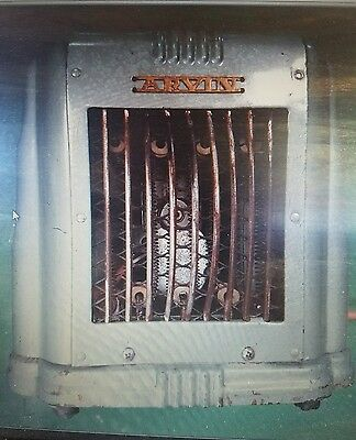 Vintage ARVIN Electric Space Heater 103 Noblitt Sparks ~ It Heats & Blows !