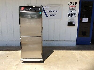 Cres Cor Full Size Mobile Pass-Thru Heating Cabinet w/Casters #3085