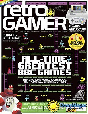 Retro Gamer Magazine Issue 148 2015 (new)