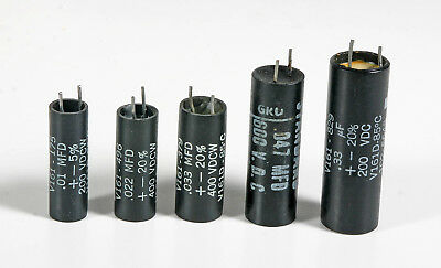 Capacitor Assortment - .01, .022, .033, .047, .33 -- 5 Pieces of each - 25 Total