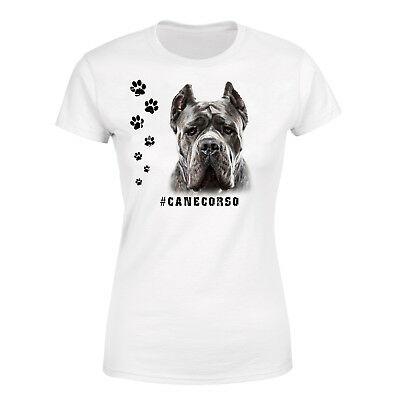 CANE CORSO Womens T Shirt Hashtag Tee Dog Breed Gift Print Pet Puppy Funny