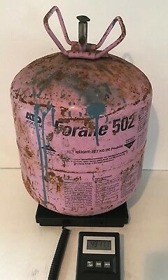 Forane R502 Refrigerant 40 lbs Approx. in Partial 50 lb Tank