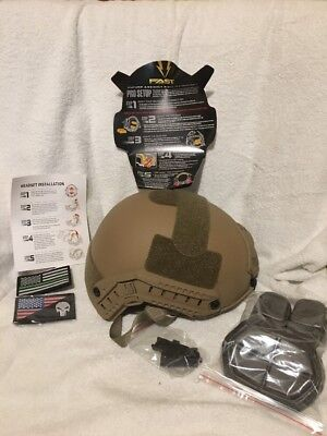 FUTURE ASSAULT SHELL TECHNOLOGY HELMET MED LG Free Shipping