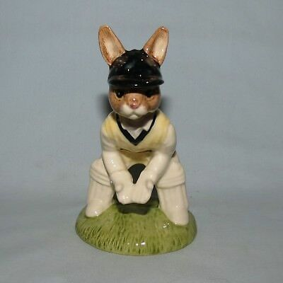 ROYAL DOULTON LTD ED BUNNYKINS DB150 WICKETKEEPER CRICKETER UK made