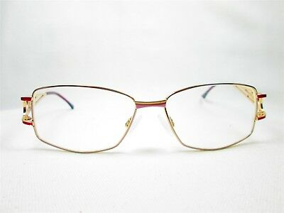 23176306ab0c VINTAGE CAZAL GLASSES Model 957 3 COL 33 Gold Frames with Original ...