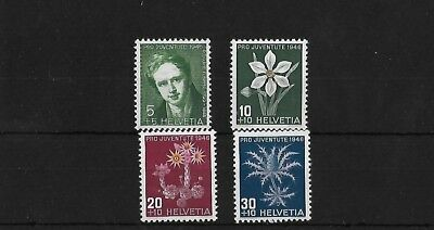 Switzerland Sgj116/9, 1946 Pro Juventute Mnh Set