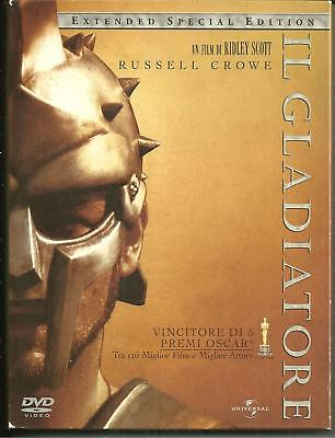 DVD Il Gladiatore. Russel Crowe - Extended Special Edition 3 dischi