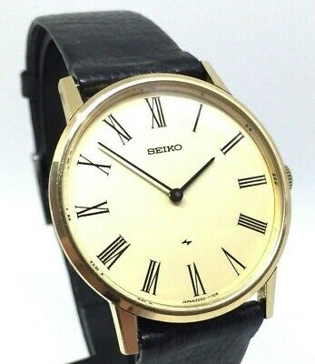 "Seiko Chariot Vintage 1970's Mechanical Wind Mens Pre-Owned Watch ""Minty""...34mm"