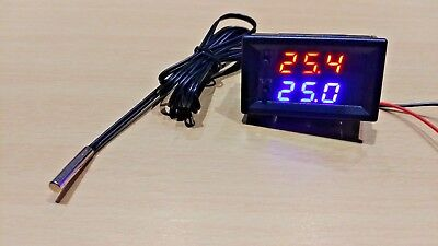 NTC 10K Digital LED Temperature Sensor Control Board Module (12V DC) W1209WK
