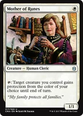 MOTHER OF RUNES NM mtg Commander Anthology White - Human Cleric Unc