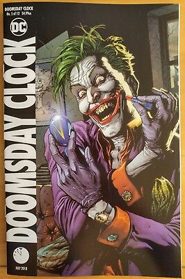 DOOMSDAY CLOCK #5b (of 12)  (2018 DC Comics) ~ VF/NM Book