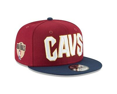 8e0f1812f2d Cleveland Cavaliers New Era 2018 NBA Finals Side Patch 9FIFTY Snap Back Hat