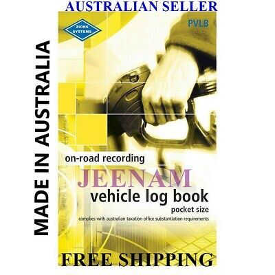 Vehicle Book Zions Fbt Pocket Pvlb Ato Compliant Car,Truck + Free Shipping